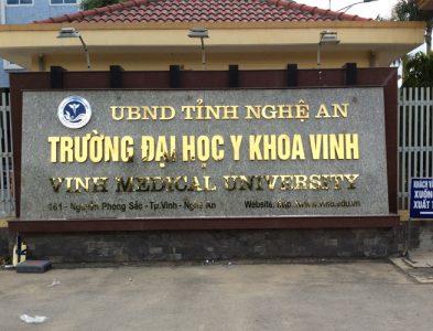 Cung cấp, lắp đặt: Gói thầu Hệ thống khí y tế trung tâm Đại học y Vinh- Tp Nghệ An