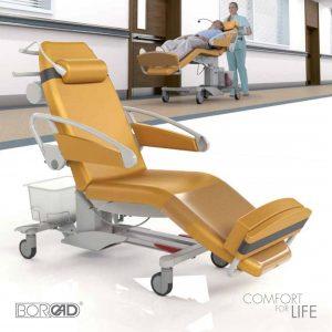 Ghế đa năng, ghế chạy thận nhân tạo, ghế nằm hiến máu di động Pura