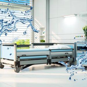 Giường điện chống nước và khả năng hạ thấp độ cao giường xuống 28cm Model Linet Image 3