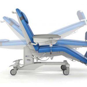 Ghế chạy thận nhân tạo, ghế nằm hiến máu di động Pura